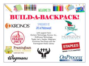 Build-a-Backpack – 200 Backpacks Given to Students In Need