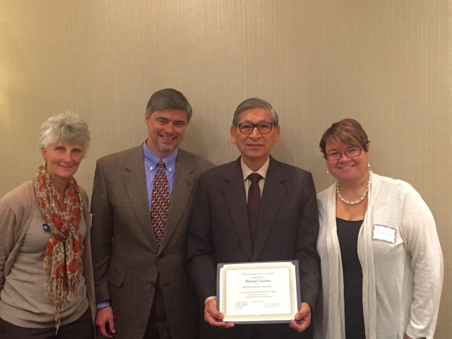 Manuel Sayan Receives Baypath Elder Services Outstanding Service Award