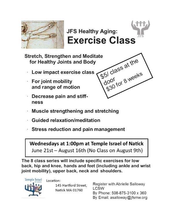 Exercise Class Summer 2017